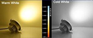 Image 5 - Dimmable LED Downlight 5W 7W 9W Spot LED DownLights Dimmable cob LED Spot Recessed down lights for living room 110v 220v