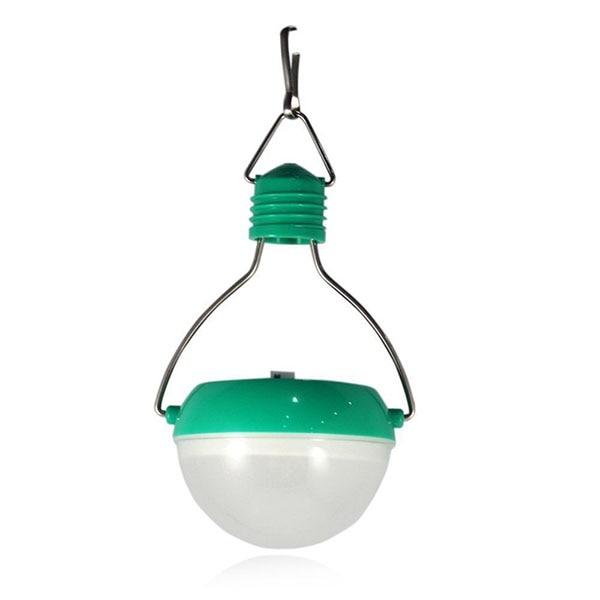 Waterproof Outdoor Emergency Solar Lamp LED Garden Light (Green)