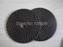 Good quality Wet  Diamond Polishing Pads 5 Inch For Granite Concrete Marble Polish with velcro back