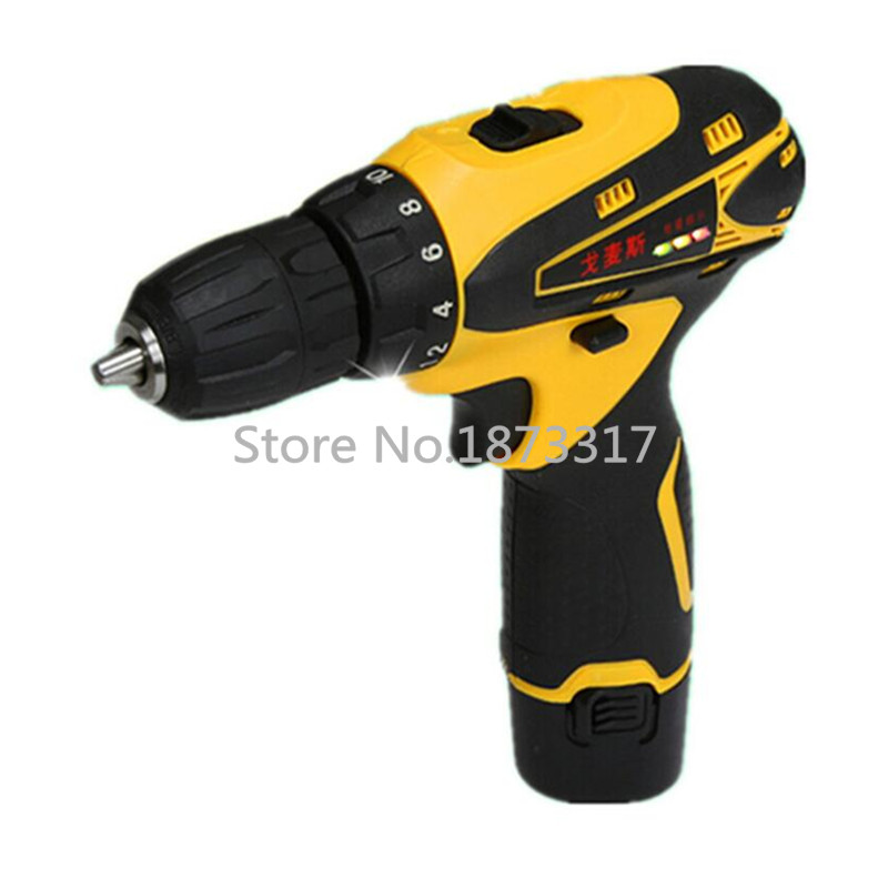 12v electric screwdriver lithium battery rechargeable parafusadeira furadeira multi function. Black Bedroom Furniture Sets. Home Design Ideas