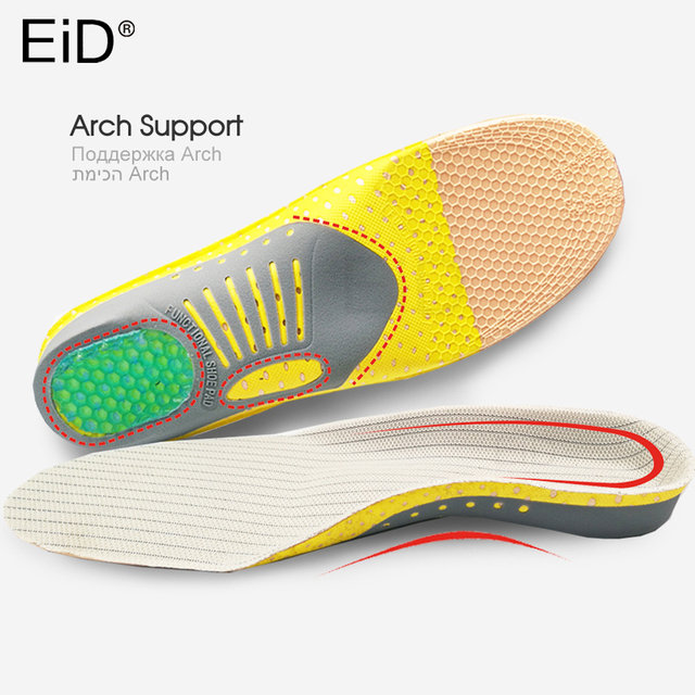 Eid pvc orthopedic insoles orthoti