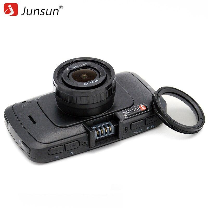 imágenes para Junsun A7LA70 con Radares A790 Cámara Del Coche DVR de Ambarella FHD 1080 p 60Fps Video Recorder Registrador Visión Nocturna Dash Cam