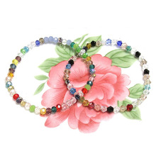 Geometric Crystal Charm Beads  Bracelets for Women Adjustable Engagement Party Jewelry Pulseras Mujer Woman Bijoux