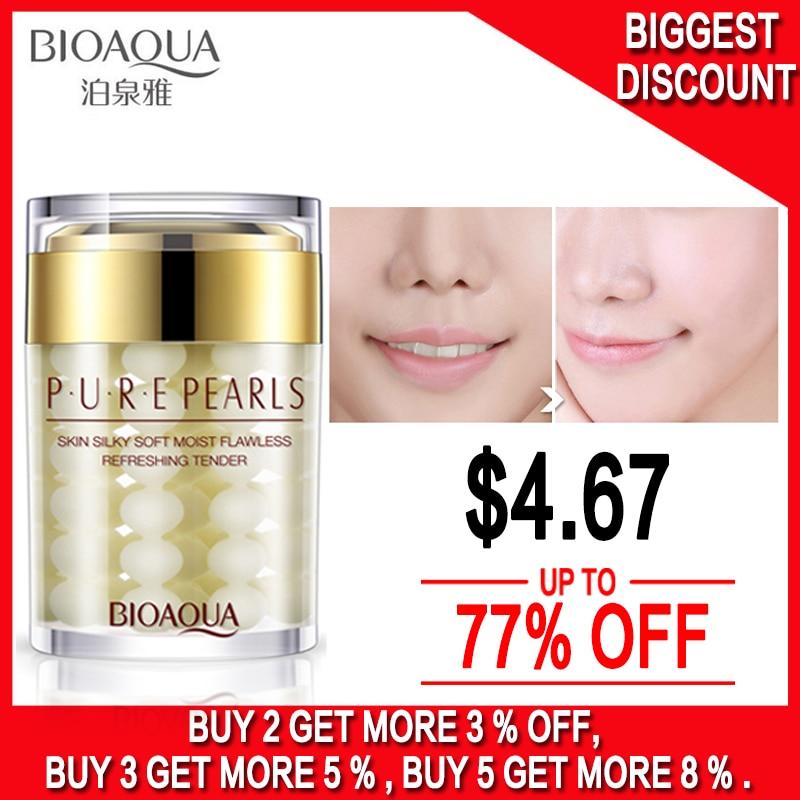 2017 חדש BIOAQUA Pure Pearls קרם פנים חדש טיפוח - טיפוח העור