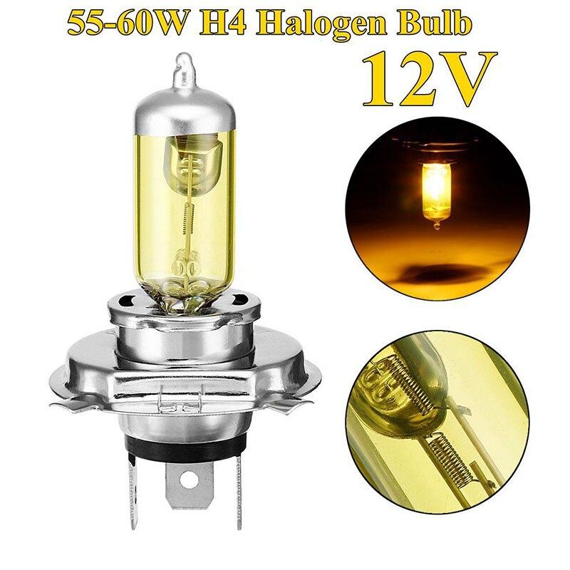 Vehemo H4 Car Headlight Halogen Lamp Light 60w Auto Light Headlight Ca Lamp Car Lights For Replacement Lighting Assembly