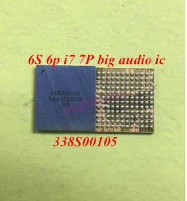 50pcs/lot 338S00105 U3101 U3500  big ring audio IC chip for iPhone 6s 6s plus 7 7plus