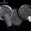 1g/Box Holographic Glitter Powder Shining Sugar Glitter Dust Powder Manicure Nail Art Decoration 8 Colors