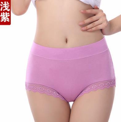 AQ193 Woman Antibiotic Briefs Plus Size Seamless Shorts Panties Calcinhas Bragas Mid High Waist Female Underwear