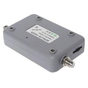 Image 5 - الرقمية الأقمار الصناعية مكتشف متر التلفزيون إشارة مكتشف Sat فك DVB T2 LCD FTA طبق