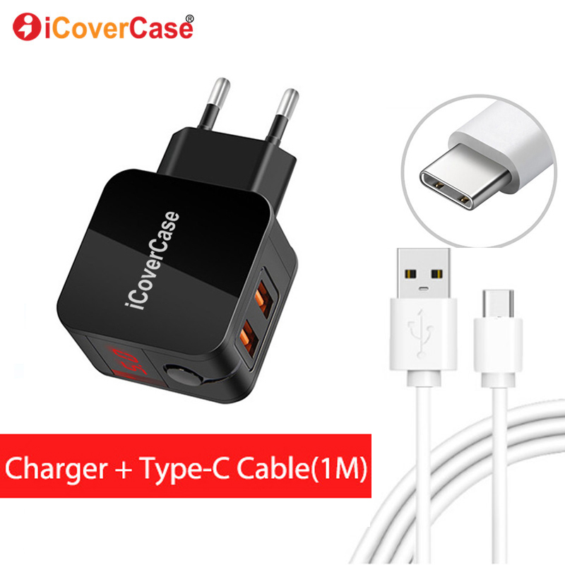 Type C Cable For Sony Xperia L1 L2 Xz Xzs Xz1 Xz2 Premium X Compact Xa1 Plus Xa2 Ultra Cellphones & Telecommunications Car Chargers Quick Charge Qc 3.0 2-usb Car Charger