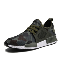 Outdoor Military Camouflage Sports Men Running Shoes 2018 Summer Krasovki Army Green Trainers Ultra Boosts Sneakers