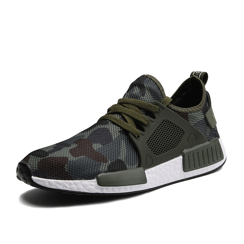 Outdoor Military Camouflage Sports Men Running Shoes 2018 Summer Krasovki Army Green Trainers Ultra Boosts Sneakers Walking Shoe