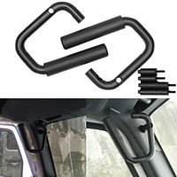 Steel Front Grab Handles GraBars For Jeep Wrangler JK JKU Sports Sahara Freedom Rubicon Unlimited 2