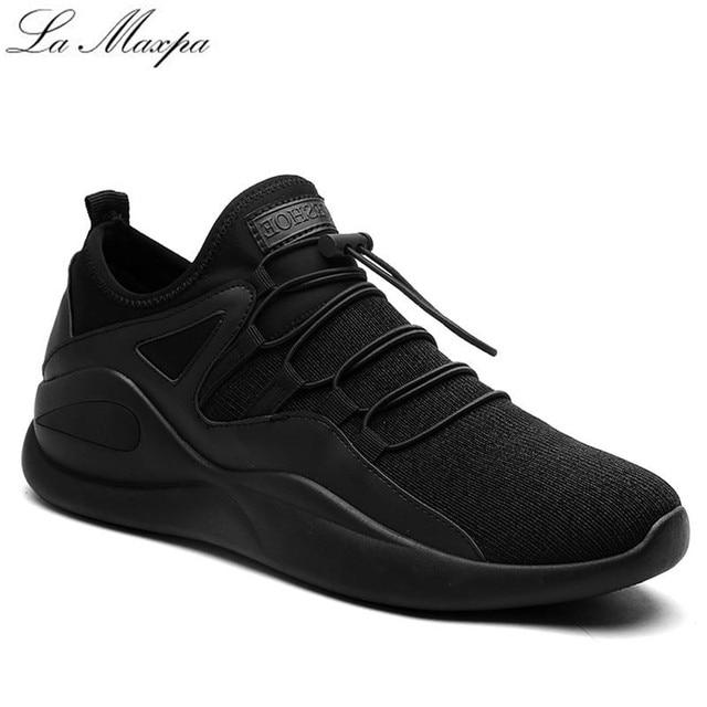 5f14ce21f2f8a Zapatos hombre Zapatillas de Deporte Otoño Hombres Deportivos Zapatos de  Lona de Los Hombres de Malla