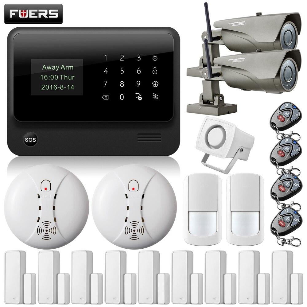 bilder für 720 P Outdoor Ip-kamera WiFi GPRS Türspalt öffnen erinnern Sensor Internet GSM Alarmanlage Hause Alarmanlage rauchmelder Sensor