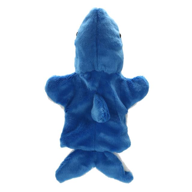 New Cute Shark Hand Puppet Baby Kids Game Playing Toys Developmental Soft Cartoon Stuffed Doll Animals Fun Toys