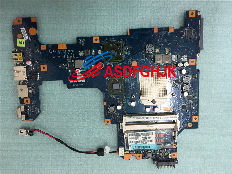все цены на Original stock For Toshiba Satellite L675d Motherboard K000103980 La-6053p  100% Test OK онлайн
