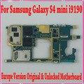 Оригинал Европа Версия Разблокирована Плата Для Samsung Galaxy S4 Mini I9190/I9195 Материнской Платы с Чипами, Хорошие Рабочие Freeship