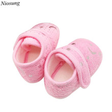 Starry Sky Printed Toddler Anti-Slip Soft Baby Shoes Sneaker Toddler Shoes Infant Kids First Walkers Shoes wholesale