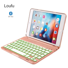 Loufu For iPad Mini 5 Keyboard Case 4 Tablet Backlit Color With Protective mini 3 2 1 Cover 7.9