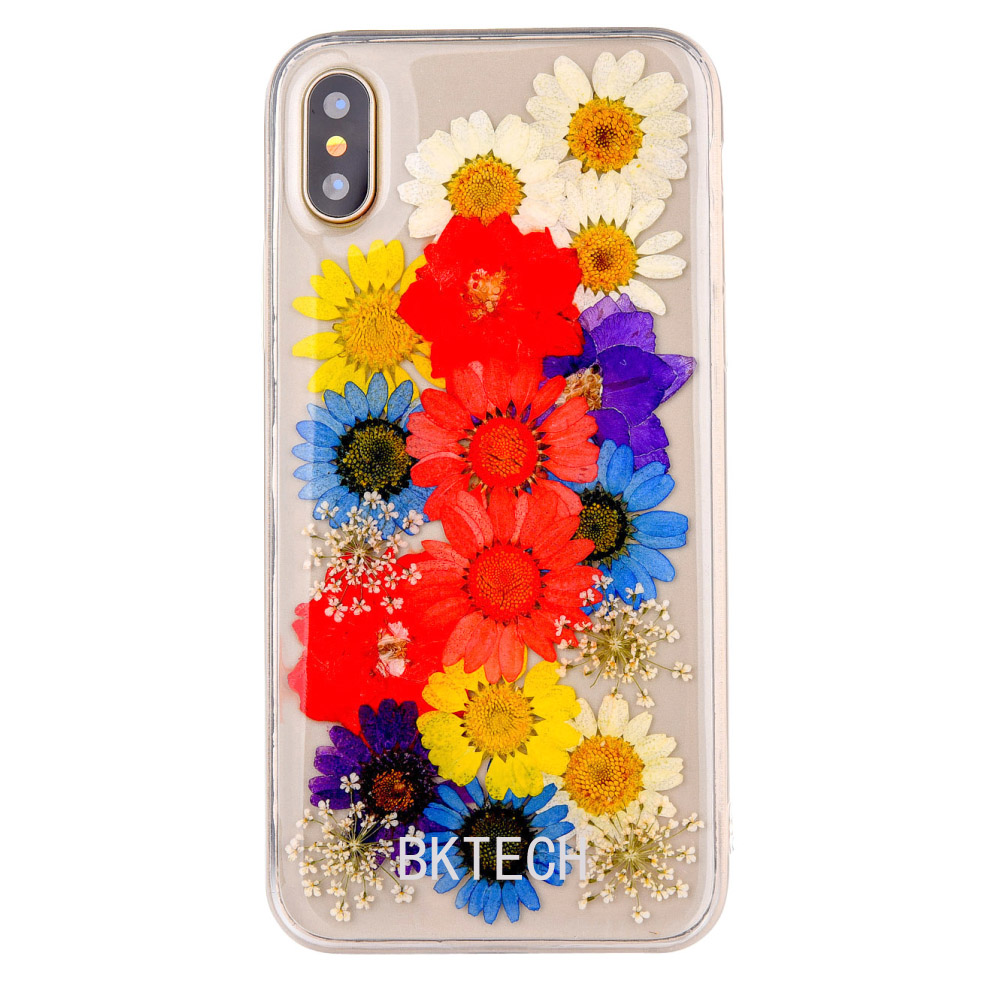 Fancy Phone Cases For iPhone X Soft Silicon Clear Rubber