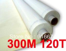 Discount 5 meters 120T 300M polyester silk screen printing mesh 120T 127CM width