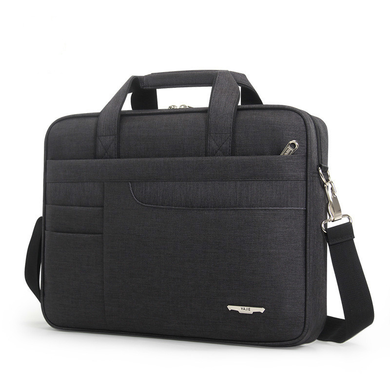 2020 Women Simple Briefcase Men's Computer Bag Oxford Laptop Handbag Office Bags For Men Shoulder Bag Messenger Bolso Hombre