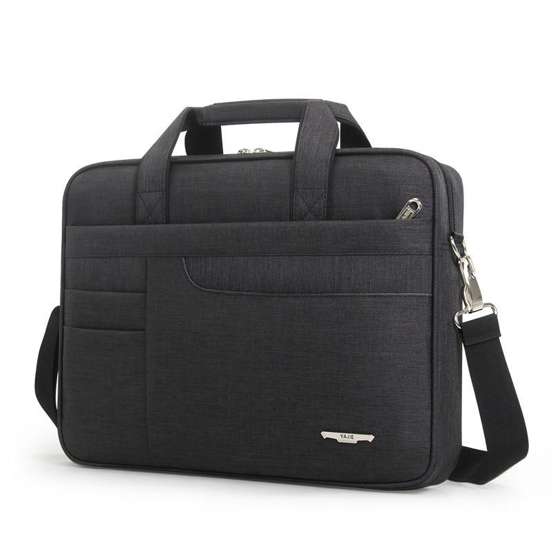 2020 Women Simple Briefcase Men's Computer Bag Oxford Laptop Handbag Office Bags For Men Shoulder Bag Messenger Bolso Hombre
