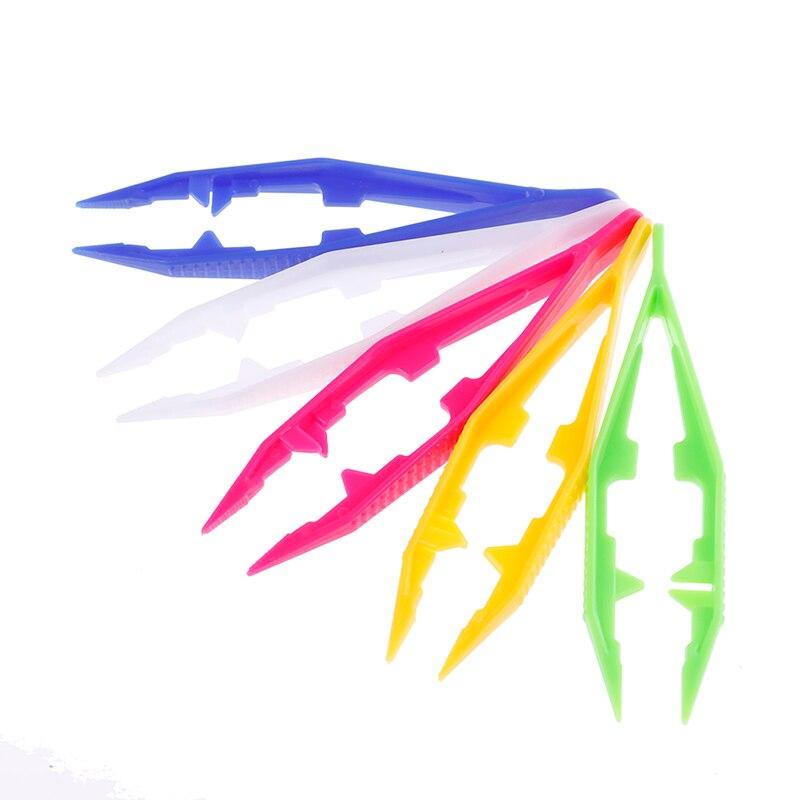 Random Color 1 Pcs Funny Durable Children Kids Tools Tweezers Kids' Craft For Perler Bead New Design