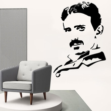 Pretty Colonel Wall Stickers Modern Fashion Sticker Decor Living Room Bedroom Removable Vinyl Art Decals