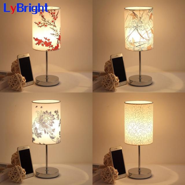 Modern Table Lamp AC 90 260V Creative Romantic Table Light Desk ...