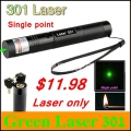 [ReadStar]RedStar 301 Red Green high power 1W laser pointer Laser pen single point Laser only without 18650 battery and charger