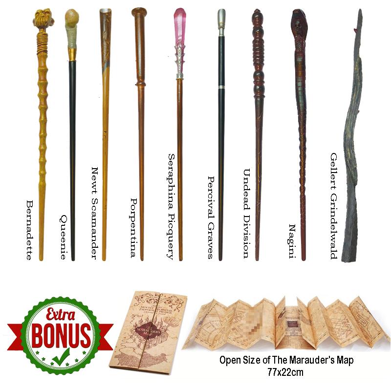 Metal Core Newt Wand Grindelwald Wand Fantastic Beasts Wands Magic Wand Christmas Gift With Box
