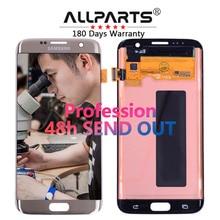 "ORIJINAL 5.5 "" Süper AMOLED Ekran SAMSUNG Galaxy S7 Kenar LCD Ekran G935 G935F G935FD SM-G935 Dokunmatik Ekran Digitizer"