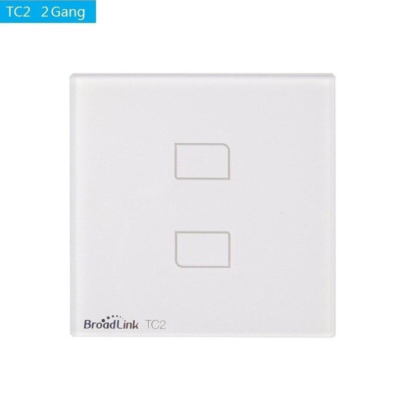 Image 3 - Broadlink TC2 EU Standard 1 2 3 gang Optional,mobile Remote light  lamp wall Switch via broadlink rmpro,Crystal Glass,domoticatc2  eubroadlink tc2 3 gangtc2 3 gang