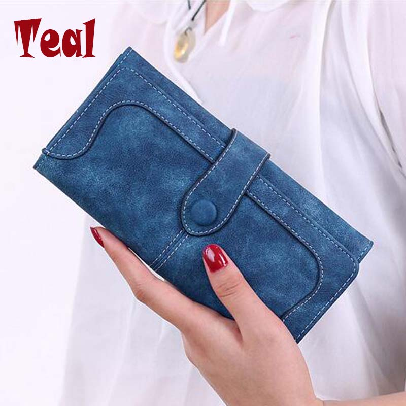 women's purse for coins cartera leather clutch wallet women luxury brand dollar price money clip wallet women's purse for coins
