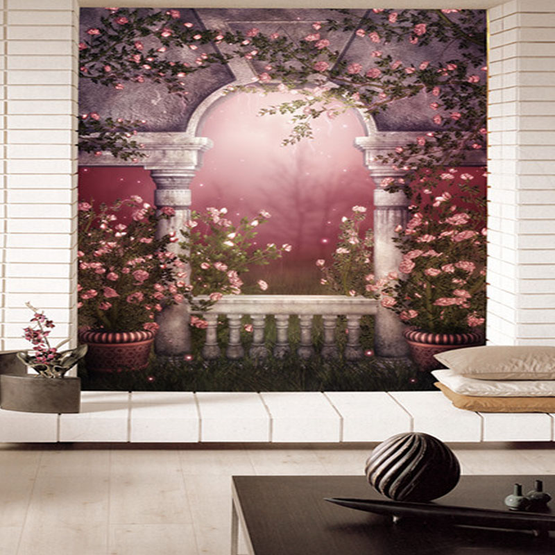 hot Custom 3d stereoscopic large mural romantic large living room sofa TV background picture wallpaper fabric fairy tale world custom 3d stereoscopic large mural space living room sofa bedroom tv backdrop 3d wallpaper woods nature