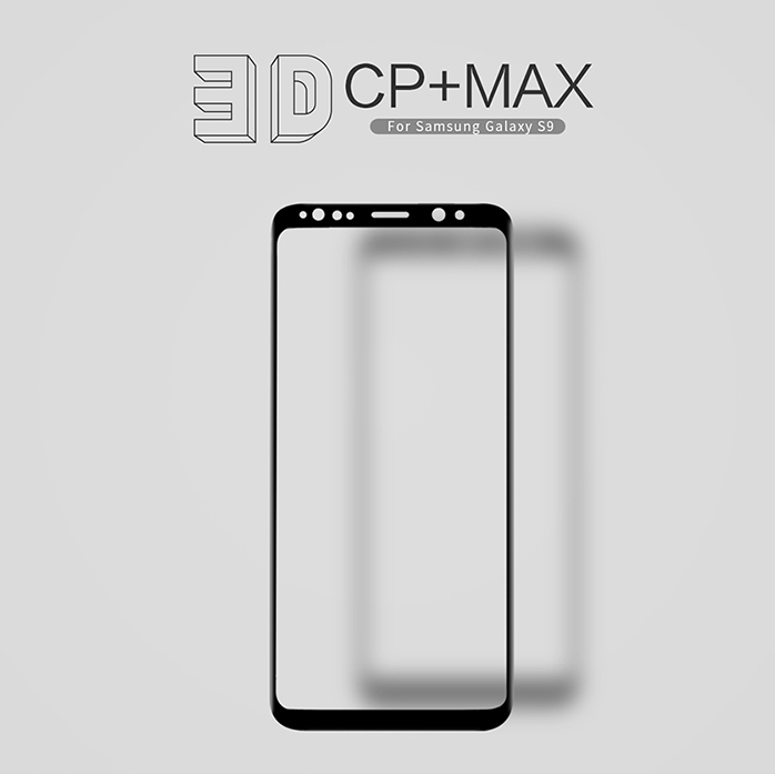 Nillkin CP+ Max 0.3mm 9H 3D Curved Full Cover Tempered Glass For Samsung Galaxy S9 Dual Sim Screen Protector for Galaxy S9