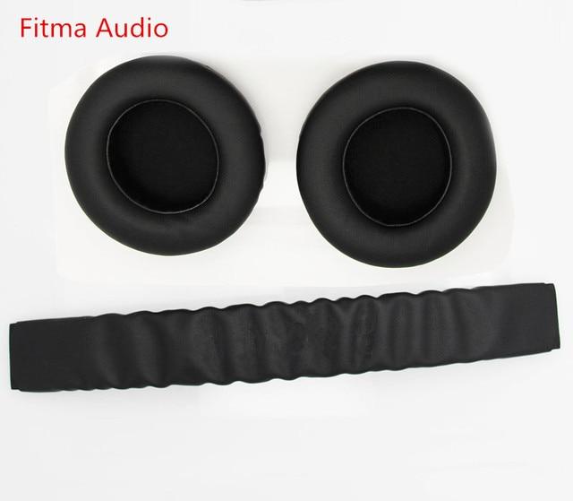 9b1512e675f Fitma Substituição Top Headband banda cabeça de plástico peças + Ear pads  Almofada Para Razer Kraken