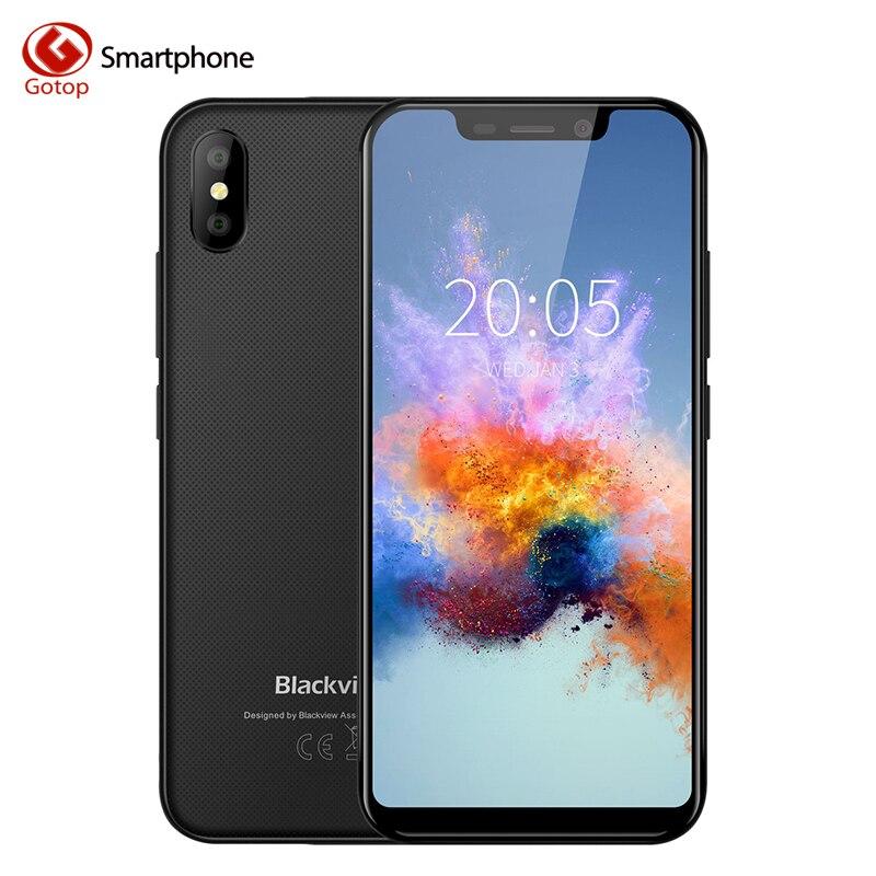 Blackview A30 смартфон 19:9 полный экран 2500 мАч 5,5 дюймов Android 8,1 dual Камера 2 ГБ Оперативная память 16 ГБ Встроенная память MT6350A 8MP мобильный телефон 3G