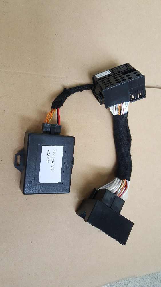 for BMW CIC Plug and Play retrofit emulator VIN X5 E70 X6