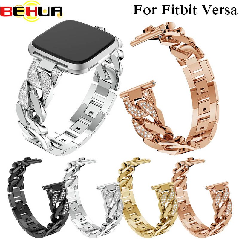 Watch Band Bracelet Strap Wristband Watchband for Fitbit Versa Smartwatch Fitness Replacement Smartwatch Band for fitbit versa in Smart Accessories from Consumer Electronics