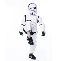 Boy Deluxe Star Wars The Force Awakens Storm Troopers Cosplay Fancy Dress Kids Halloween Carnival Party