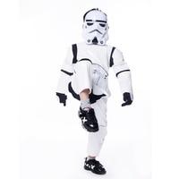 Boy Deluxe Star Wars The Force Awakens Storm Troopers Cosplay Fancy Dress Kids Halloween Carnival Party