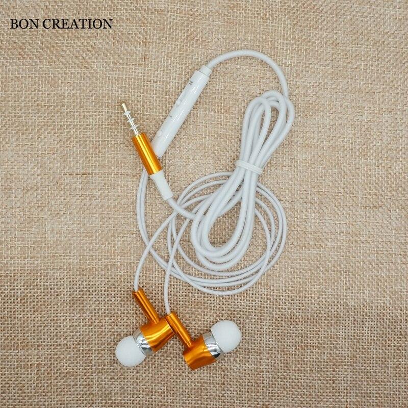 BON CREATION Glowing Earphone Luminous Night Light Stereo Sound Earphone Glow In The Dark for iPhone