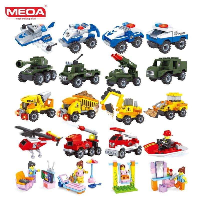 Meoa Mini Wojskowe Klocki Duplo Kompatybilne Legoinglys City Police