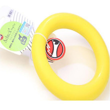 New Dog Toys Pet Puppy Chew Nature Rubber Ring Tooth Cleaning Ring Food for Dog Pet Accessories Animal Puppy Chew Toys
