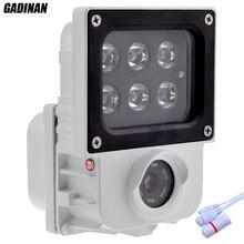Gadinan H.265 2.0MP 1080 P ip-камера 6 шт. ИК или белый свет светодиодов дополнительный Открытый Cam видеонаблюдения Onvif Водонепроницаемый xmeye