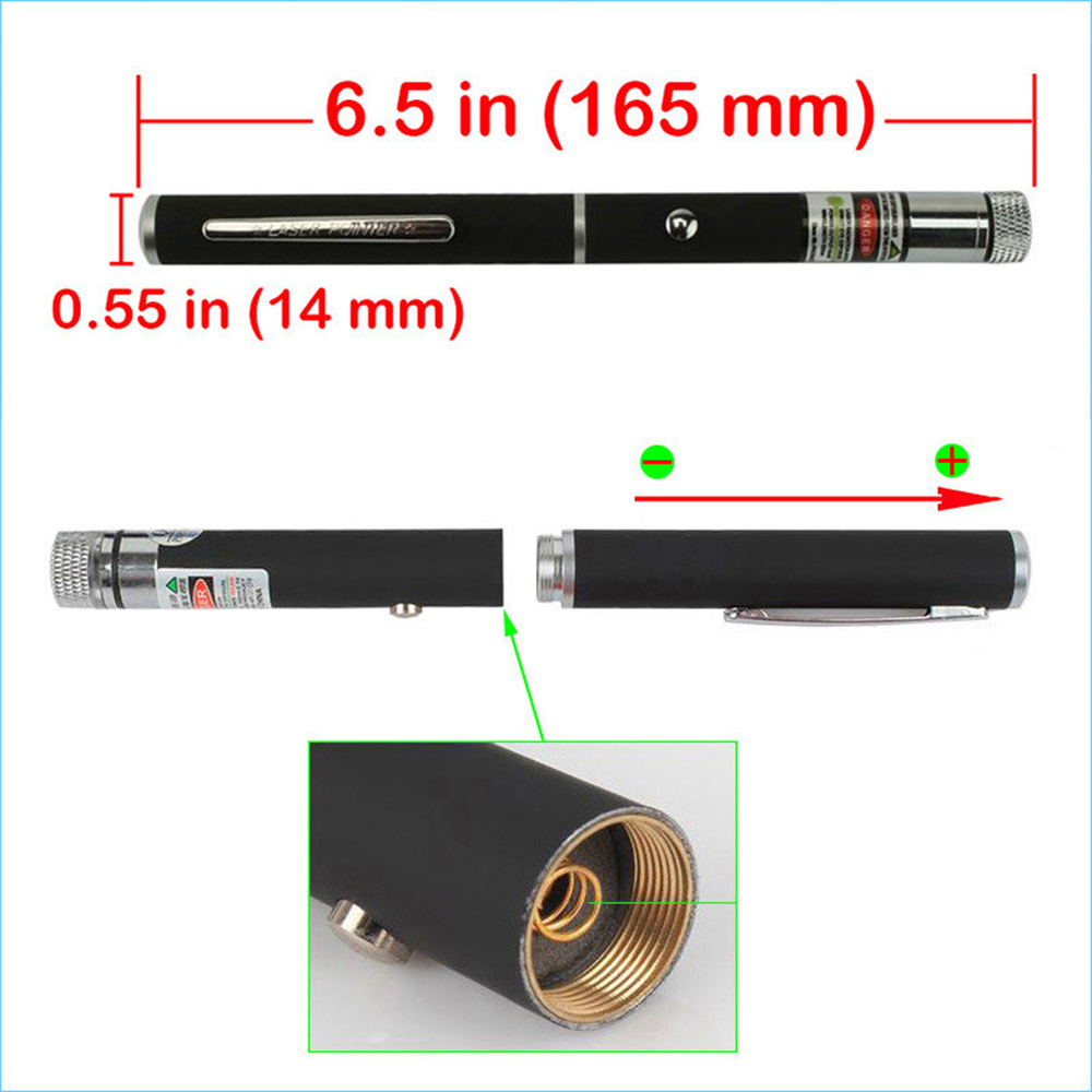 Мощен 5mW 6in1 зелен лъч лазерна - Офис електроника - Снимка 3
