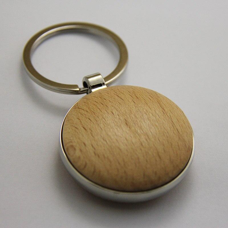도매 50 pcs 빈 나무 키 체인 diy 프로 모션 사용자 지정 키 태그 프로 모션 고품질 선물 무료 배송-에서열쇠고리부터 쥬얼리 및 액세서리 의  그룹 2